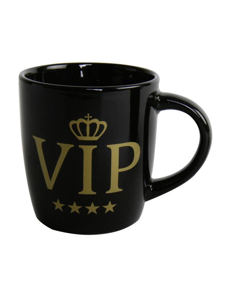A Caneca VIP é um presente criativo para amigos especiais...