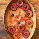 Try the Roasted Spiced Black Plums Recipe on williams-sonoma.com/