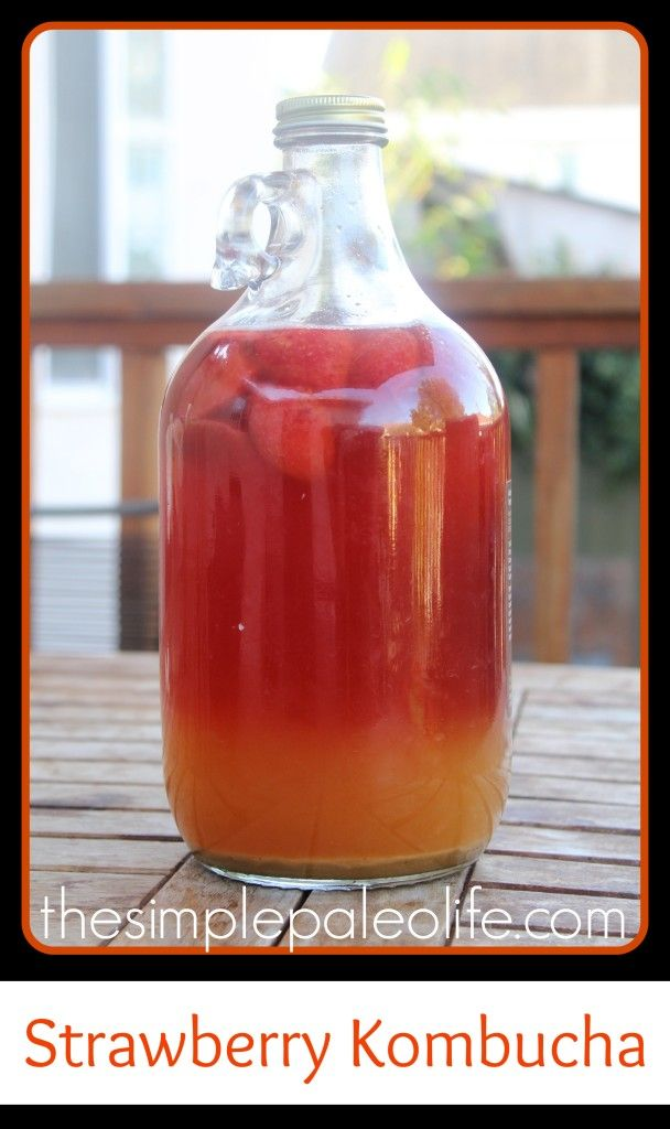 http://www.hollywoodhomestead.com/strawberry-kombucha/  One of my favorite flavors and worst kitchen disasters! Watch out for fizz!
