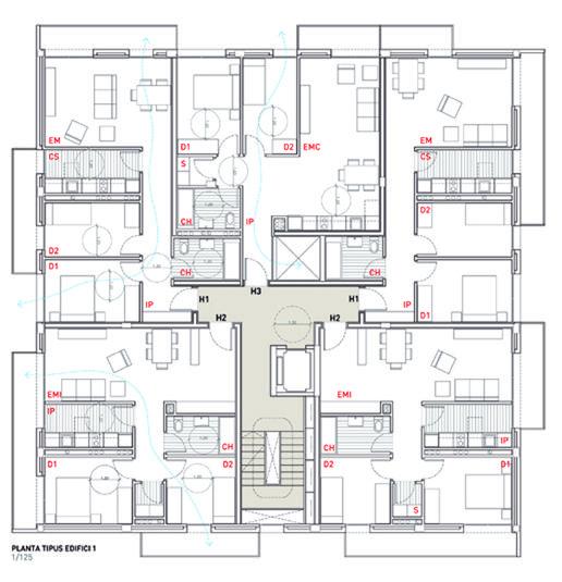 Social housing in Sentmenat