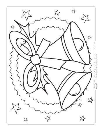 Gratis Kleurplaten Klokken.Free Christmas Coloring Pages Kerst Kleurplaten Navidad Feliz
