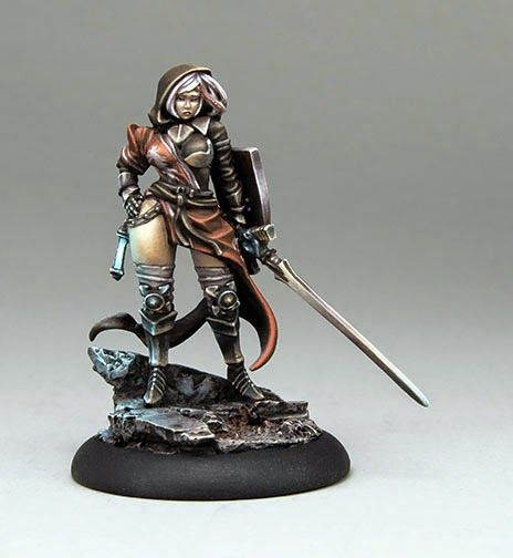 Cool Mini or Not published pictures of the painted version of the Twilight Knight for Wrath of Kings: Link: Pictures on Kickstarter L...