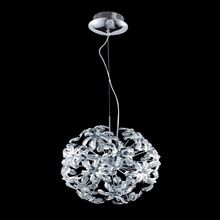 Modern Style Romantic Crystal Pendant Lights Hydrangea Shape for Home Decor EMS Free ZW1501179(China (Mainland))
