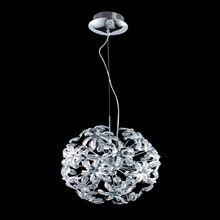 Modern Style Romantic Crystal Pendant Lights Hydrangea Shape for Home Decor EMS Free ZW1501179(China (Mainland))