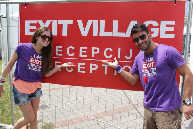 At the EXIT festival in Novi Sad,Serbia we met again and had an awesome week together,along with 48 other Greeks!!!