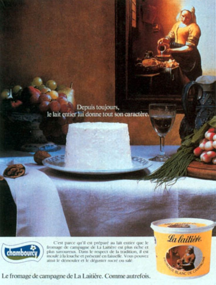 Read more: https://www.luerzersarchive.com/en/magazine/print-detail/chambourcy-17152.html Chambourcy Whole cream milk has always given it its special character. La Laitière Curd Cheese. Tag-line: Like it used to be. Tags: Chambourcy,DraftFCB, Paris,Sylvia Schildge,Grégoire Delacourt,Valéry Assenal