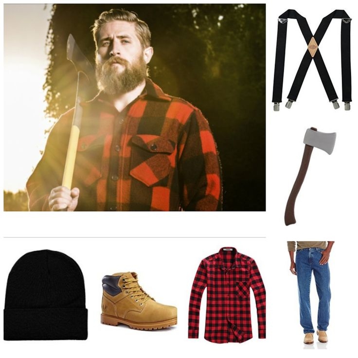 Lumberjack Costume for Guys with Beards