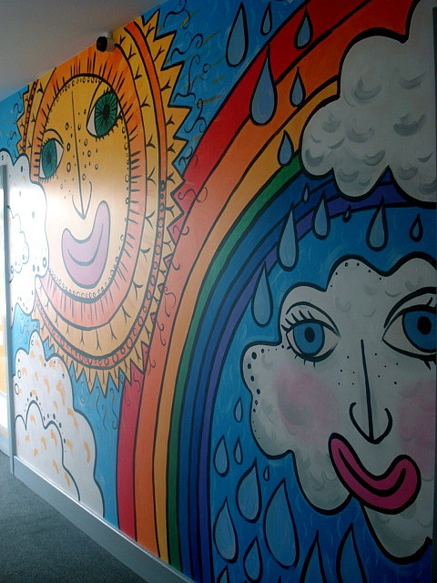 murals can be used for enriching lessons