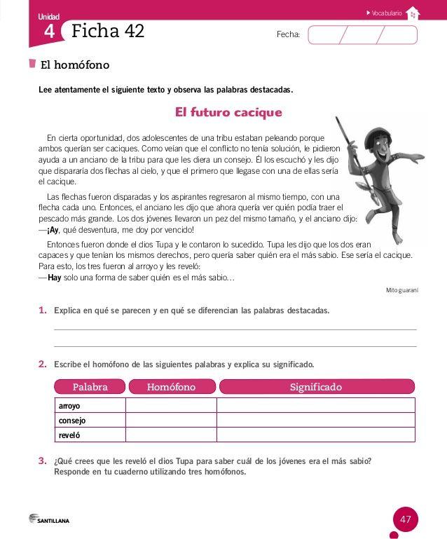 Cuaderno Actividades Lenguaje 4º Lectura De Comprensión Lecturas Comprensivas Para Primaria Matematicas Tercero De Primaria