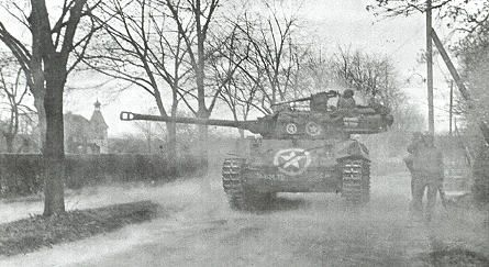 824th Tank Destroyer Battalion in Wiesloch, April 1945