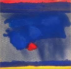 "Painting ""Purple Water"" by Helen Frankenthaler"