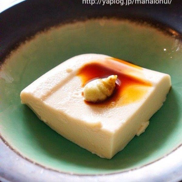 何度も作りたくなる♪♪片栗粉で簡単☆料亭風ごま豆腐!!|暮らしニスタ
