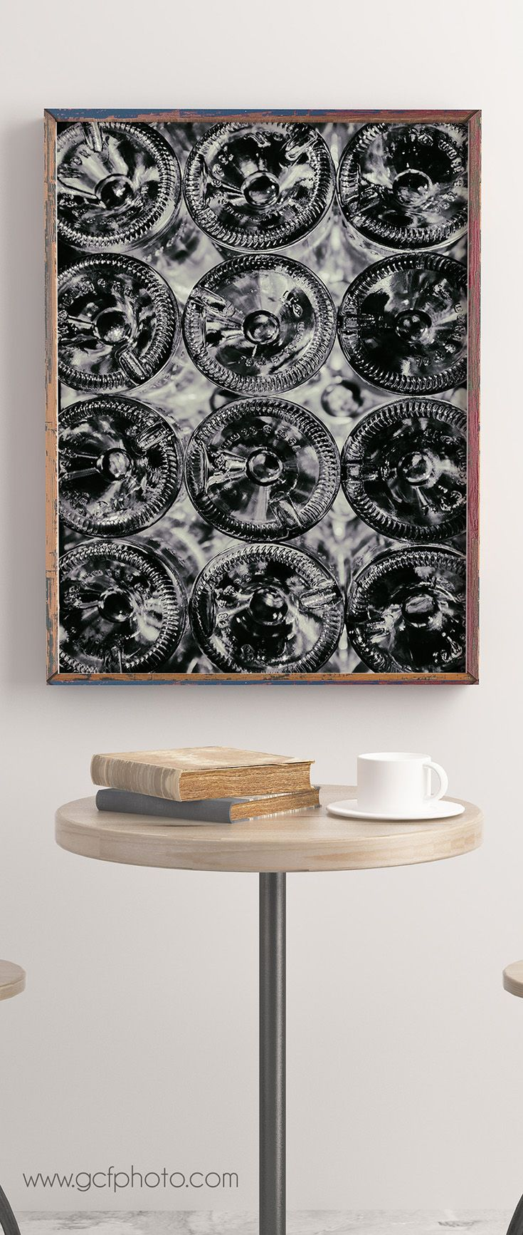 Black & white wine wall decor print for classic European style! Click on the picture now for details and more options>>