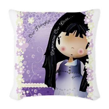 Girly pillows by babyartshop on Etsy, €28.00