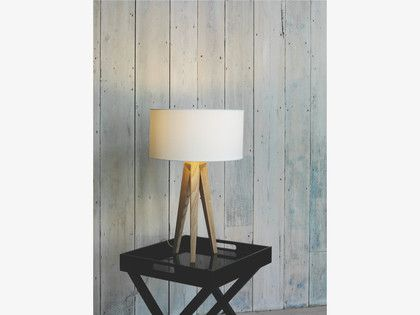 TRIPOD Ash wooden tripod table lamp base