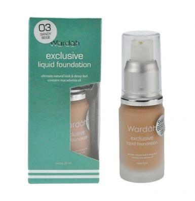 Wardah Exclusive Liquid Foundation 03