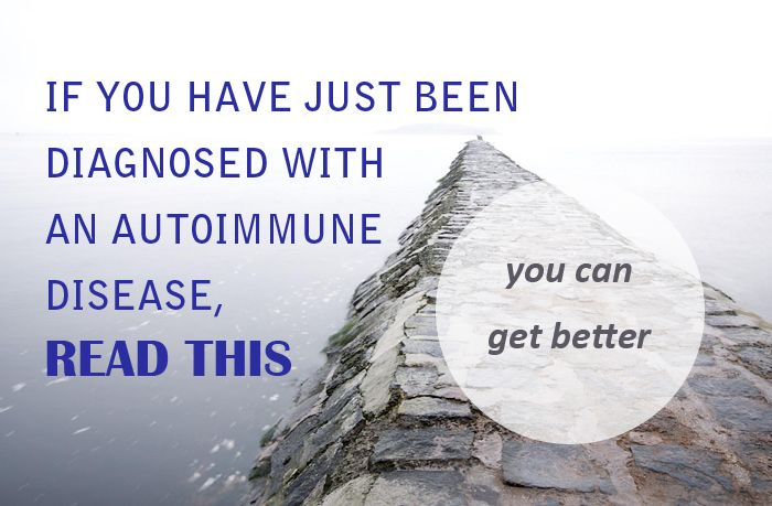 If you have just been diagnosed with an autoimmune disease, read this. | http://asquirrelinthekitchen.com