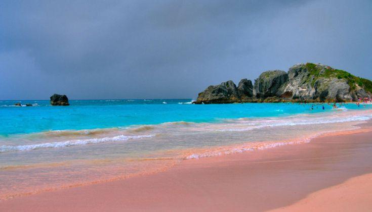 Pink Sand Beach Hawaii | Coloured sandy beaches - where, what, why, when?