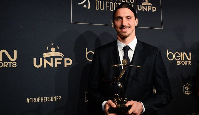 Zlatan Ibrahimovic, elegido mejor jugador de la liga francesa - Mastrip.net