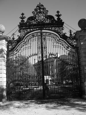 Iron Fence for Breakers Mansion Newport, R I .
