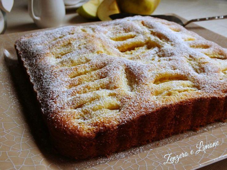 torta di mele al profumo di limone   ♥