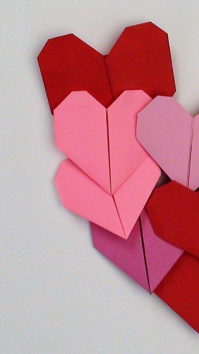 EASY ORIGAMI HEART. — Gathering Beauty | 1133x636