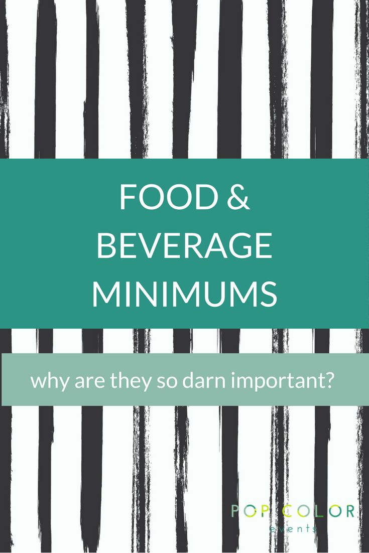 What is a food and beverage minimum and why is it important for your Bar or Bat Mitzvah party planning? Tips, advice and tricks for your Mitzvah party f&b. | Pop Color Events | Adding a Pop of Color to Bar & Bat Mitzvahs in DC, MD & VA