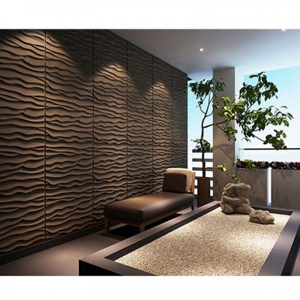 Διακόσμηση τοίχου Sand 3D πάνελ