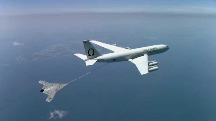 NAVAIR Clips:  X-47B completes first autonomous aerial refueling