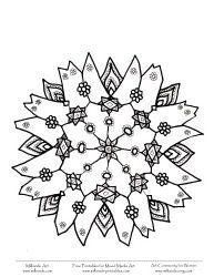 25 Unique Snowflake Coloring Pages Ideas On Pinterest
