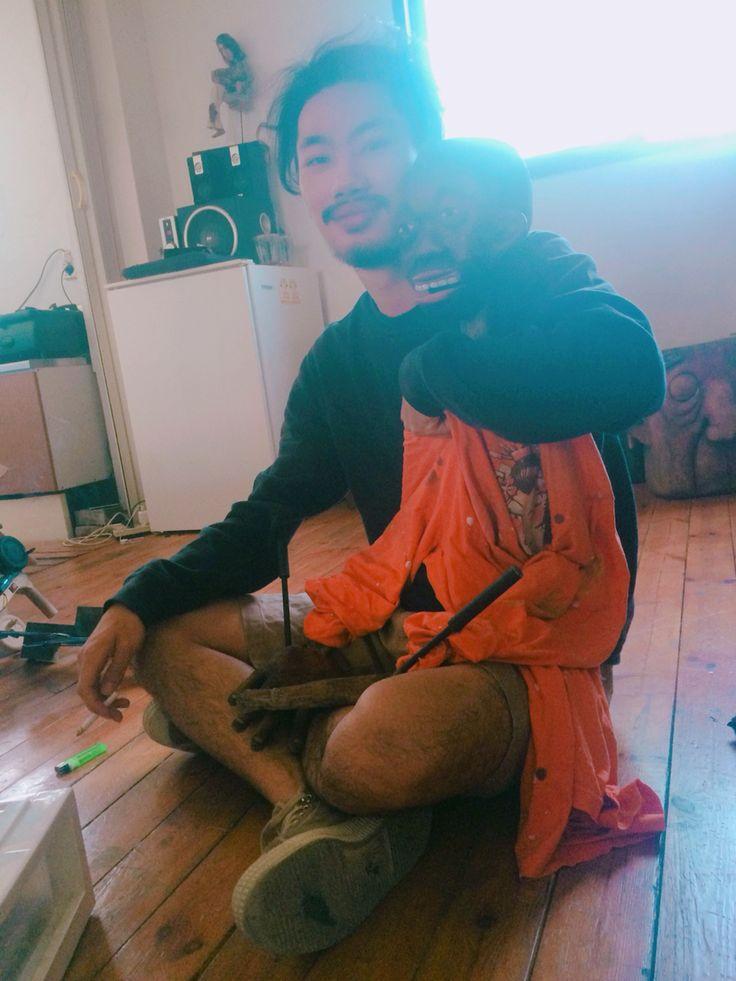 M'atelier in seoul  His bro 👬👬