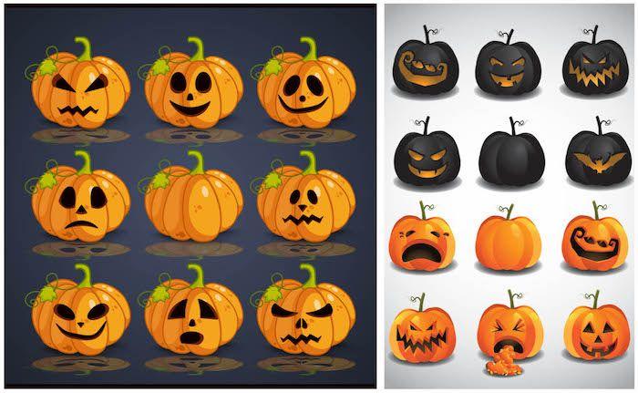 Kurbis Bemalen Ideen Deko Feiern Halloween 14