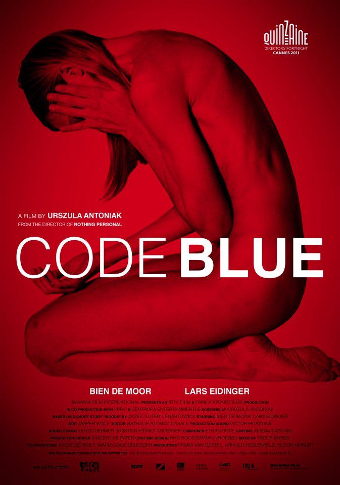 CODE BLUE AFFICHE  Buro Fritz • Grafisch ontwerp