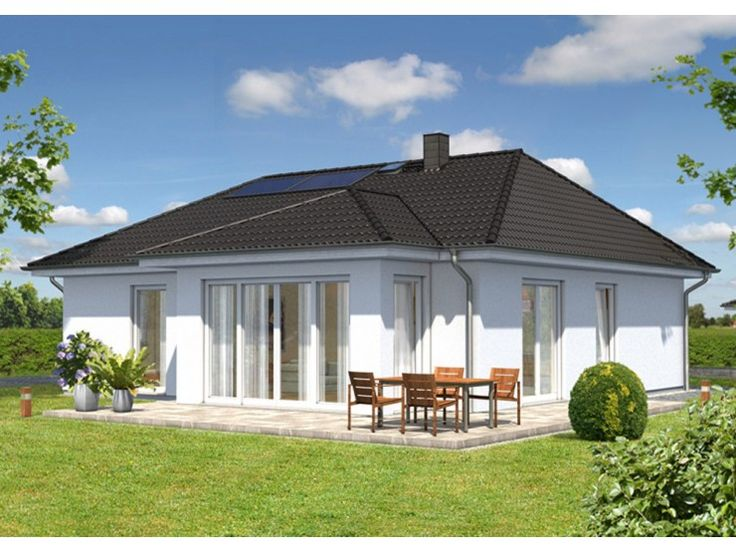 Bungalow 92 - #Einfamilienhaus von Town & Country Haus Lizenzgeber GmbH   HausXXL #Bungalow #Energiesparhaus #klassisch #Walmdach