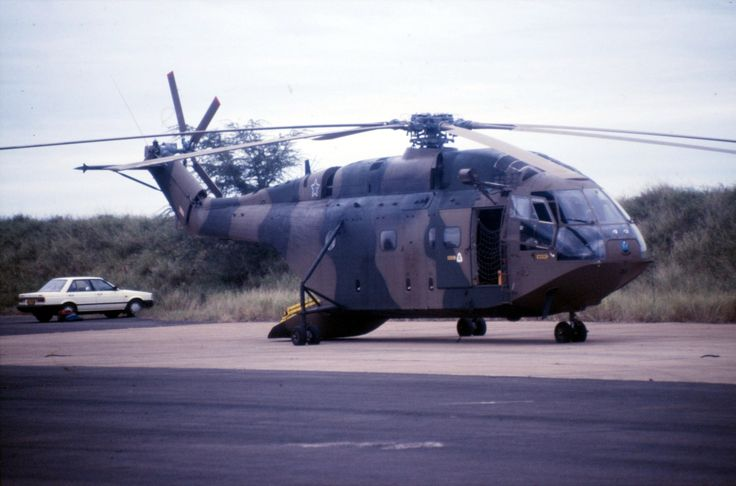 South African Air Force Super Frelon no. 313 at Hell's Gate