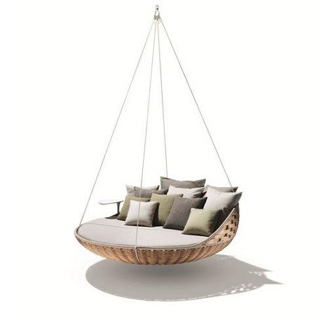 Swing & Nest Rests: Dynamic Duo of Outdoor Lounging | WebUrbanist