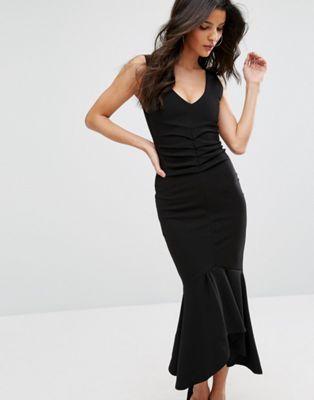 8efe30b15090 City Goddess Midi Dress With Peplum Hem | Fancy | Pinterest | Midi dresses,  Goddesses and Fashion online