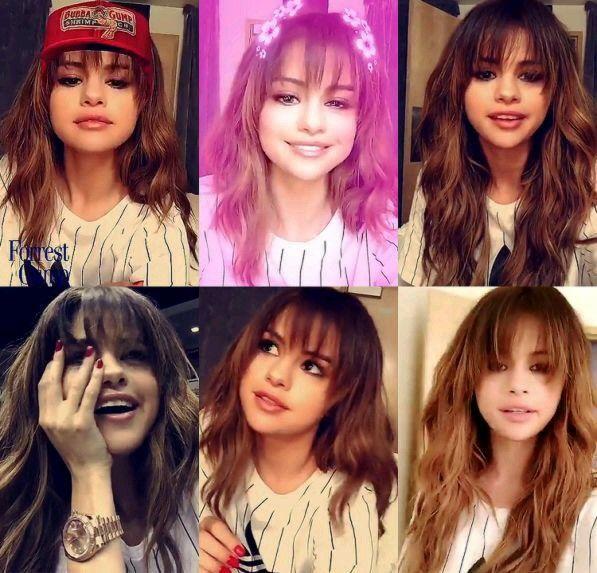 Selena Gomez selfie snapchat revival tour 2016