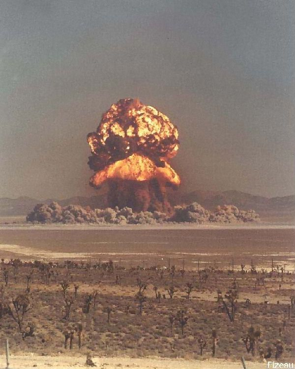 Every childhood friend I had had tons of slides of these from their dad work.....9/4/57 Nevada Test Site