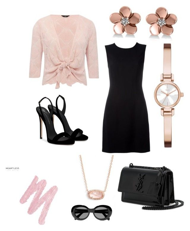 """""""Special Occasion"""" by esteadman-1 on Polyvore featuring Versace, M&Co, Giuseppe Zanotti, Yves Saint Laurent, Allurez, DKNY, Kendra Scott, Urban Decay and Acne Studios"""