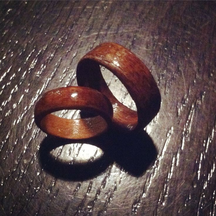 Our first leben rings.