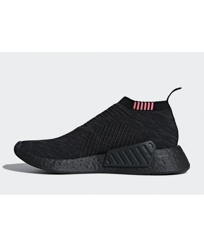 sports shoes ecfc1 c39d5 Adidas NMD CS2 Black Trainers Outlet. Adidas NMD CS2 Black Trainers Outlet  Runners Shoes, Adidas Nmd R1, All Black Sneakers