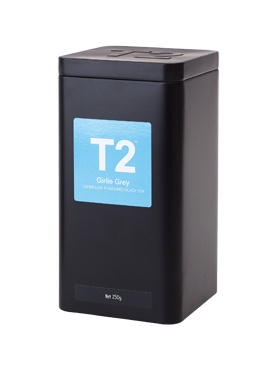 T2, Girlie Grey Tea, $32.75, Shop 19, Lower Ground, QVB.