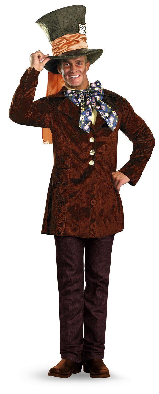 madd hatter costume | Adult Mad Hatter Costume $52.95 - Men Disney Costumes