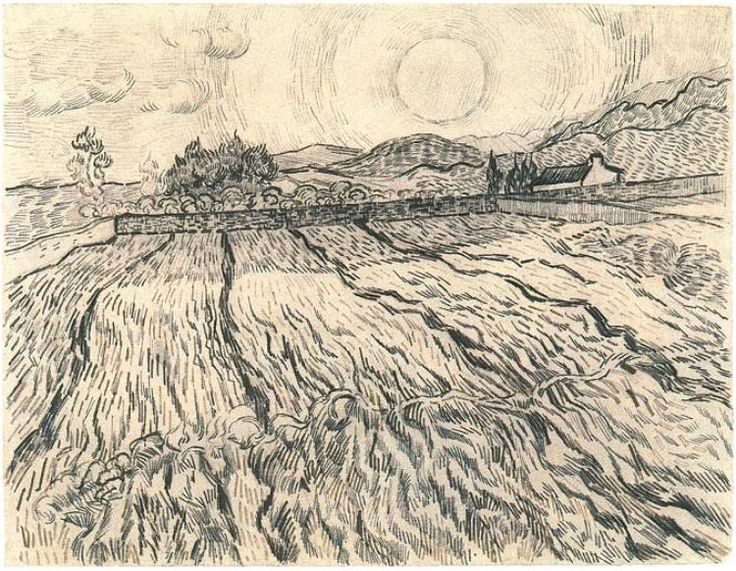 Agricultural extensions: Van Gogh Drawings