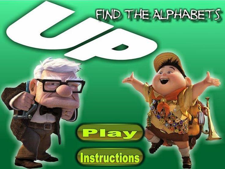 Seguro que conocéis la película Up, pues aquí tenéis una escena en la que tendréis que buscar todas las letras del abecedario