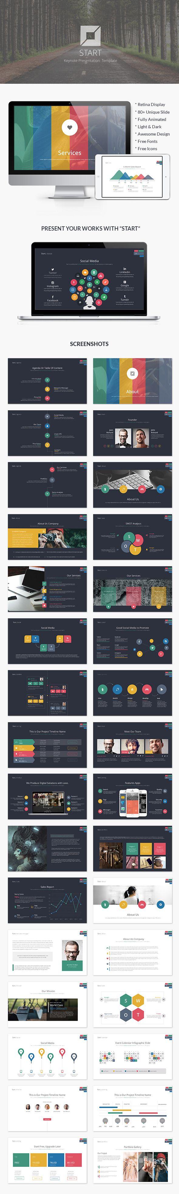 Start | Business Keynote Template #design #slides Download: http://graphicriver.net/item/start-business-keynote-template/12756280?ref=ksioks