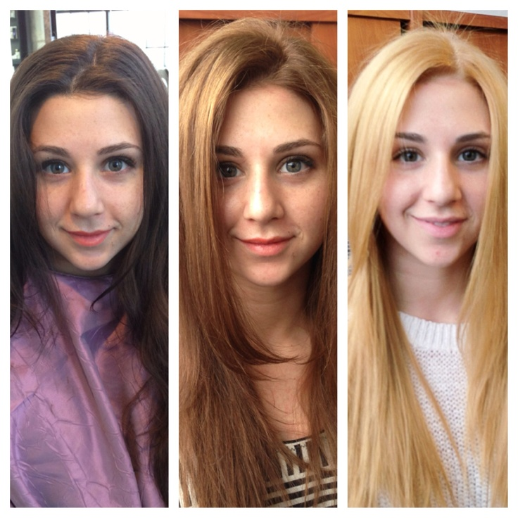 Going From Brown To Blonde Before And After Www Pixshark
