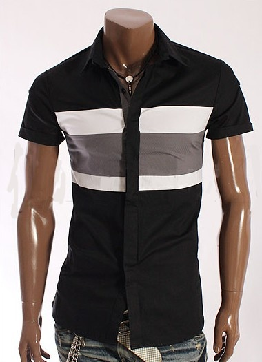 http://spektrodesign.com/ropa-hombre/camisas/camisa-negra-franja-horizontal.html