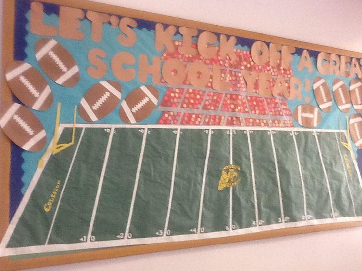 Football-themed Bulletin Board by AlexxxanderCastro.deviantart.com on @deviantART